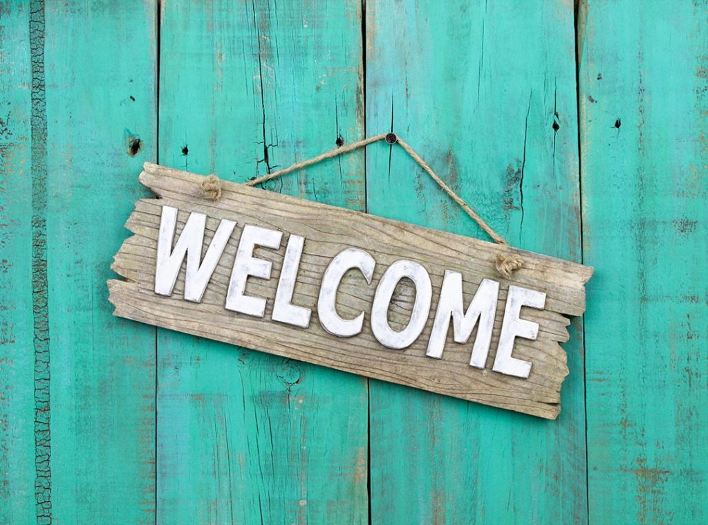 Who Sits In Front of You in Church? (or Behind?)